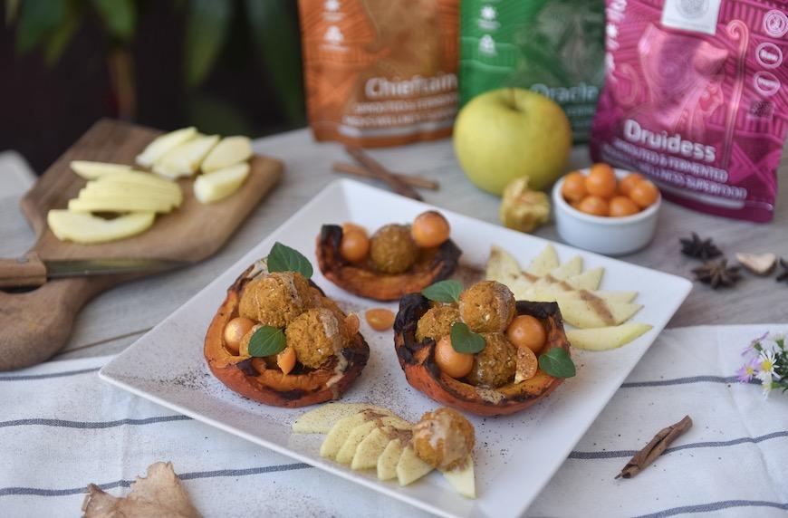 Имуно-подсилваща закуска – тиквени бонбони
