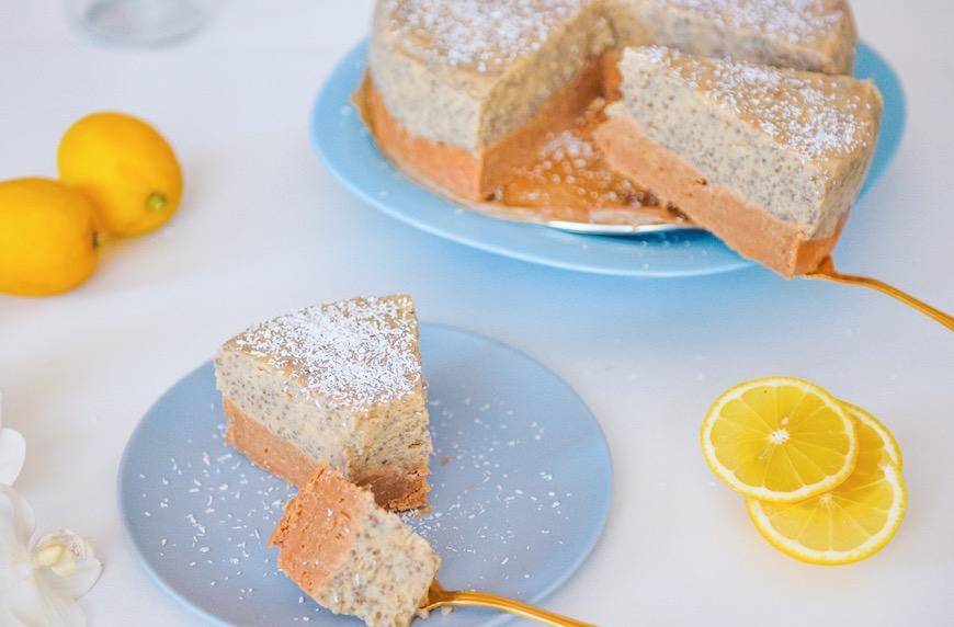 Лимонов протеинов кейк