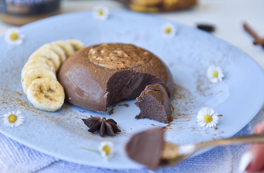 Протеинов десерт с ниско съдържание на въглехидрати